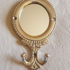 Anthropologie Small Wall Mirror with Hook